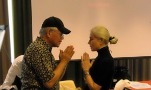 dr Hew Len e Silvia Paola Mussini