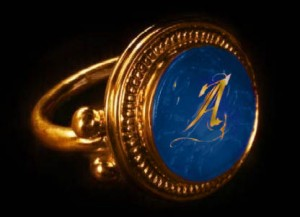 anello-Antique azure